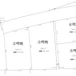 建築条件なしの分譲地!広めの敷地をお考えの方に!(価格:710万円~780万円)